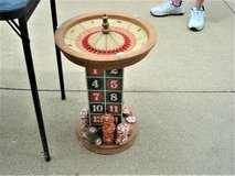VERY UNIQUE SIDE TABLE ---- ROULETTE TABLE END TABLE in Joliet, Illinois