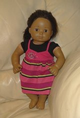 """American Girl Pleasant Company 15"""" Bitty Baby African American Doll 2011- Cute!! in New Lenox, Illinois"""