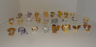 Littlest Pet Shop Lot of 25 Retired Pets (13 Cats & 12 Dogs) - LPS in New Lenox, Illinois
