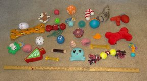 Huge Lot of 28 Dog Toys - Chewy / Squeaky in Plainfield, Illinois