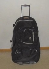 Nike Large Roller Luggage Travel Suitcase Athlete Basketball Black Away Games in Plainfield, Illinois