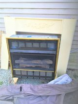 gas wall fireplace (mantle as shown in photo included) in Plainfield, Illinois