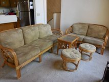 Vintage Bamboo Furniture by King's Collection in Camp Pendleton, California