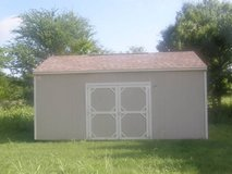 12x20 Utility Storage Shed in Huntsville, Texas