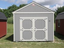 12x24 Utility Storage Shed in Brenham, Texas