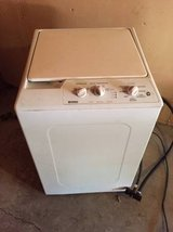 Kenmore compact washer washing machine apartment size in Travis AFB, California