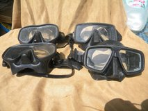 Dive Masks Scuba (4) Bare, Scuba Pro U.S divers in Camp Lejeune, North Carolina