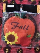 Fall garden flag in Joliet, Illinois