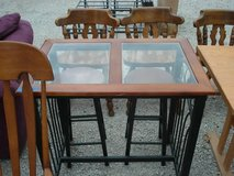 pub  table with 2 stools in Shorewood, Illinois