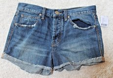 NWT Urban Outfitters BDG TomGirl Denim Button Fly Shorts, MSRP $54, 26w in St. Charles, Illinois