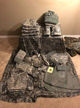 Army ACU kit in Camp Pendleton, California