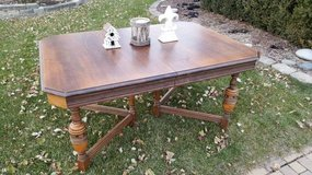 Vintage Table Handcrafted in Chiacago in Plainfield, Illinois