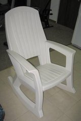 Adult Extruded Plastic Rocking Chair in Oswego, Illinois