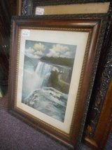 Antique Waterfall Picture in Elgin, Illinois