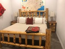Log Bedroom Set in Baytown, Texas