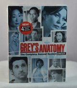 NEW Greys Anatomy Season 2 DVD 6-Disc Set * Includes 4 Extended Uncut Episodes in Shorewood, Illinois