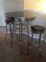 Coaster Cleveland 1950's Style Round Table & Stool Set in Lackland AFB, Texas