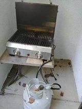 Gas grill with tank in Roseville, California