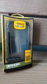Solid Black - OtterBox Defender HTC One M8 belt clip Holster in St. Charles, Illinois