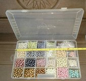 Czech Glass Beads  Assortment , storage case included in Bolingbrook, Illinois