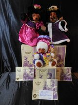 "Raikes Bears Originals ""The Royal Court Collection"" in Camp Pendleton, California"