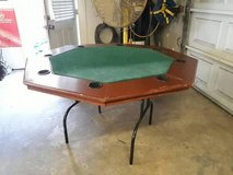 Folding 8 Player Poker Table in Tomball, Texas