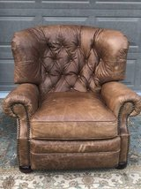 BarcaLounger leather recliner in Lockport, Illinois
