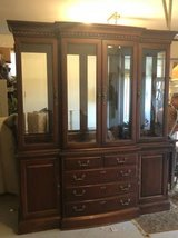 Thomasville China Cabinet EUC in Chicago, Illinois