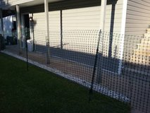 55 feet temporary fence + 8 stakes in Beaufort, South Carolina