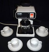 Maxim Express Espresso / Cappuccino Coffee Maker + 4 Demitasse cups in Westmont, Illinois