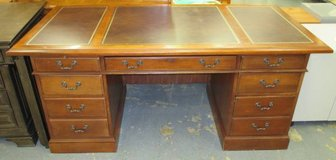 Hooker Furniture Executive Leather-top Desk in Naperville, Illinois