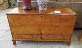 Early 1800's Antique Blanket Chest with Candle Box & 2 Drawers in Glendale Heights, Illinois