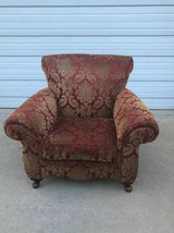 Beautiful floral upholstered chair EUC in New Lenox, Illinois