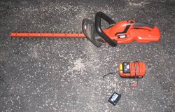 Black & Decker Hedge Trimmer - Battery Powered in Plainfield, Illinois