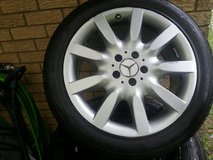 Mercedes Wheels (alloy) w/ 255X45/R18  Tires HD 921 in Kingwood, Texas