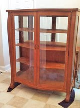 Antique China/Curio Cabinet Solid Oak (Eatonton) Price Reduced to SELL in Macon, Georgia