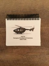 UH-72A Emergency Procedures and Limits Study Cards in Fort Rucker, Alabama