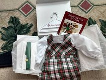 Retired American Girl Plaid Jumper and Blouse in Schaumburg, Illinois