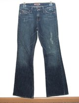 Paris Blues Lightly Distressed Flare Denim Jeans Womens 5 Juniors Stretch in Joliet, Illinois