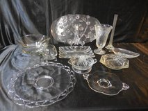 Walther Glass Tray & Misc Glass Pieces in Camp Pendleton, California