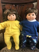 ~BITTY BABY TWINS~BOY AND GIRL~WITH EXTRAS~ in Morris, Illinois