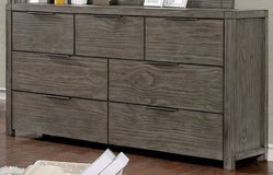 New! Hardwood Gray Dresser + Nightstand FREE DELIVERY in Oceanside, California