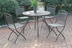 New! Metal Outdoor Patio Table and 4 Chairs FREE DELIVERY in Oceanside, California