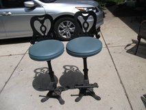 2 IRON BAR STOOLS OR COUNTER STOOL in Orland Park, Illinois