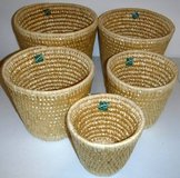 New! 5 Baskets - for storage or plants in Westmont, Illinois