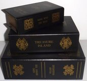 Set of 3 Classics ~ Secret Storage Book Box Decor in Westmont, Illinois