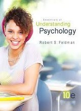 Essentials of Understanding Psychology, 10th Ed. - Robert S. Feldma in Camp Pendleton, California