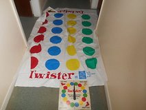TWISTER GAME!  Spin Wheel and Vinyl Floor Mat!  Missing Box! in Bellaire, Texas