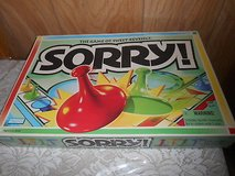 Parker Brothers SORRY Board Game!  Excellent Condition! in Spring, Texas