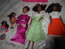 Mixed Lot of African American BARBIE Dolls + 2 Small dolls!  5pc in Kingwood, Texas